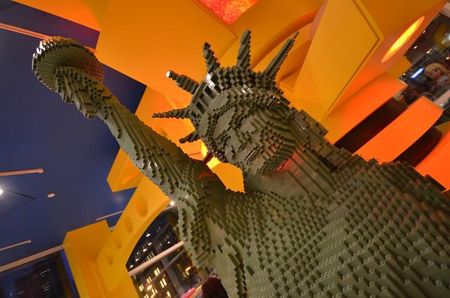 Estatua de la libertad de Lego