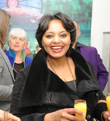 Randa Ahmad-Hassan at Debut Contemporary 3rd Birthday Party and March Private View
