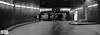 underground city carpark in IR B&W pano-