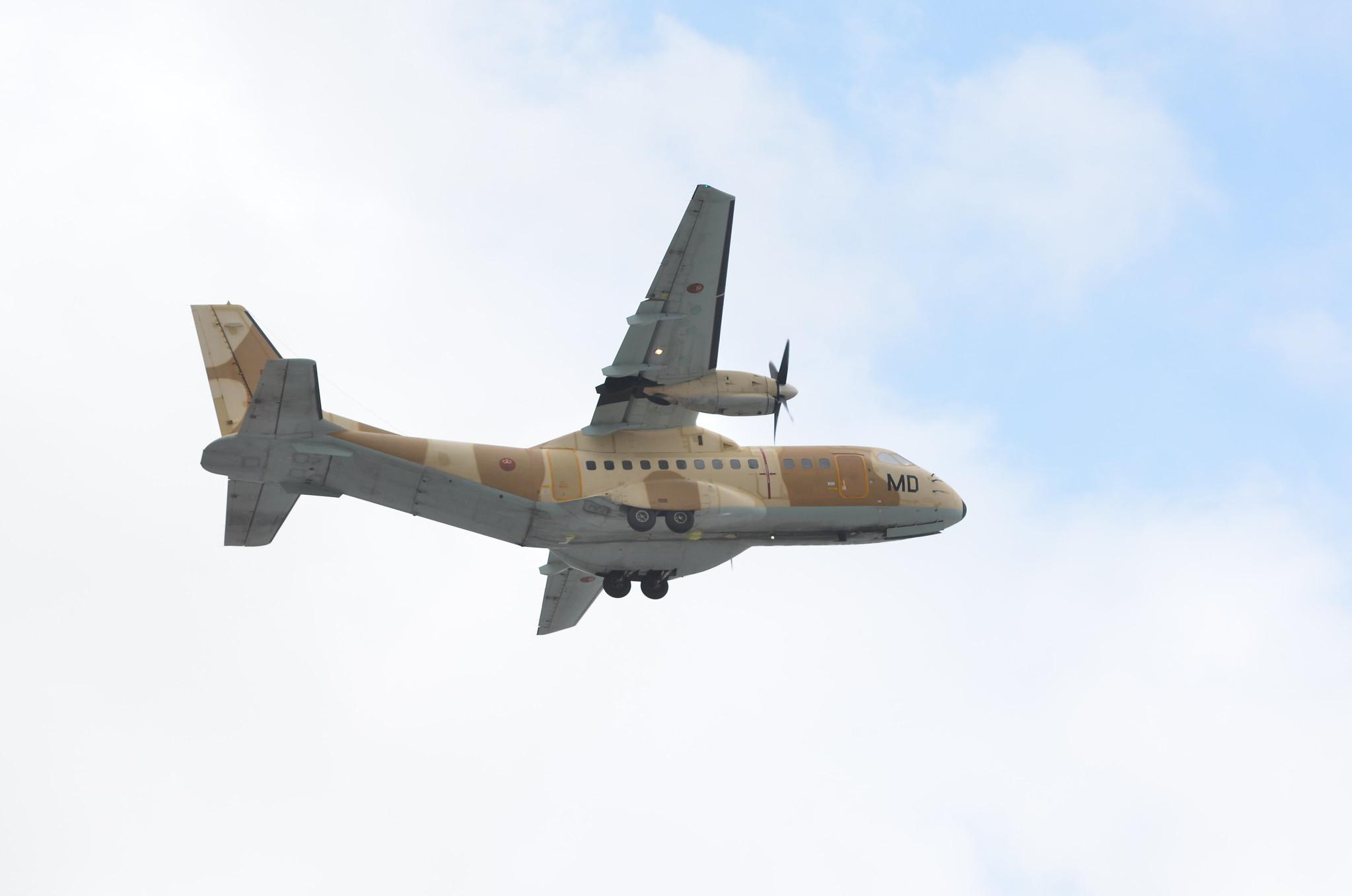 طائرات النقل العاملة بالقوات المسلحة المغربية 13060116793_1d155dbcbd_k