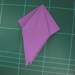 การพับกระดาษเป็นฐานนกอินทรี (Origami Eagle) 023