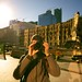 Self-portrait with Union Station by timtom.ch
