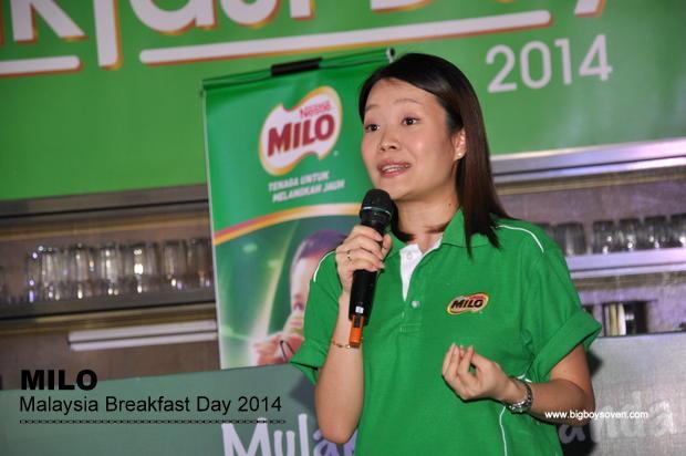 MILO Malaysia Breakfast Day 2014