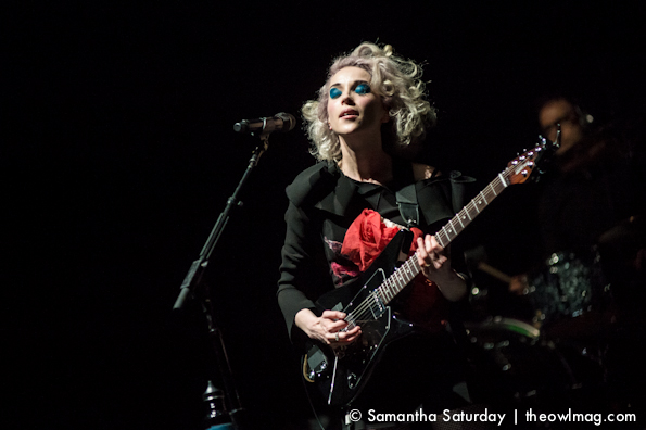 St Vincent @ The Wiltern, LA 3/21/14
