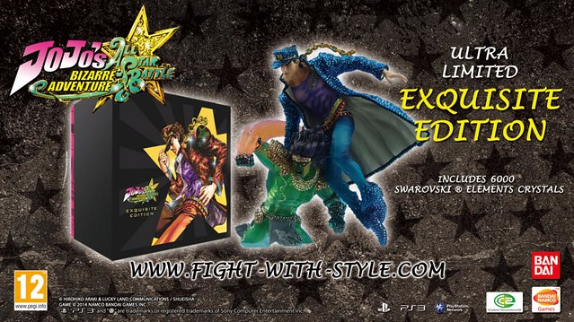JoJo's Bizarre Adventure: All-Star Battle's Exquisite Edition