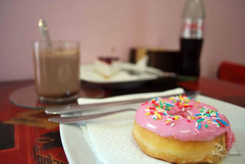Donut y Colacao