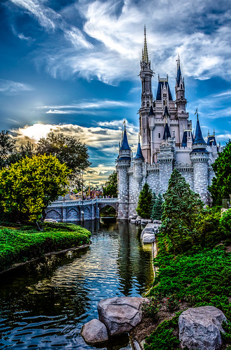 park blue green castle nature water river garden children landscape nikon day cloudy disney princes walt d5100 flickrtravelaward