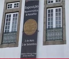 Museum Pio XII Braga exhibit banner