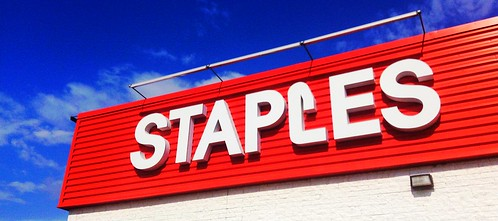 Staples has long offered free Wi-Fi. Photo CC BY 2.0 (Mike Mozart)