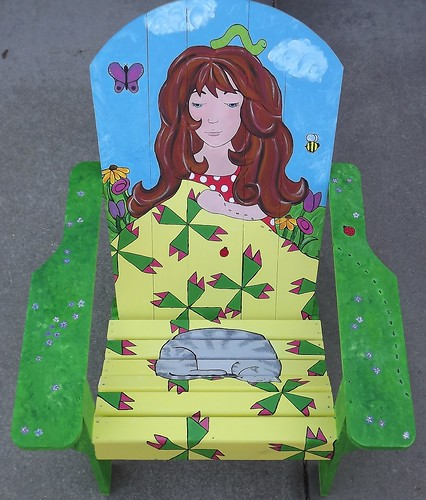 Painted Chair 2