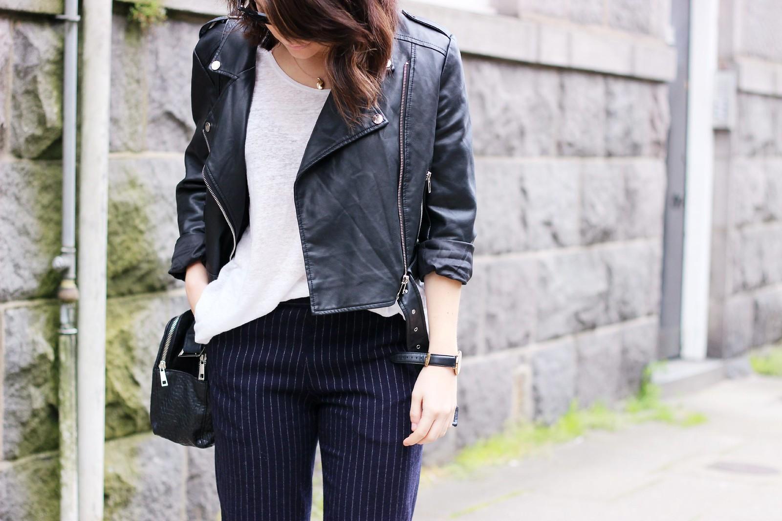 Missguided cropped biker jacket 4