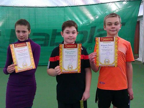 теннисный турнир Тарасовская зима