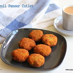 Broccoli and paneer cutlet