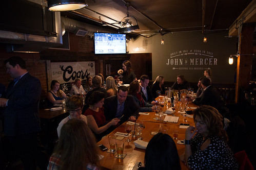 Mercer Tavern Media Dinner