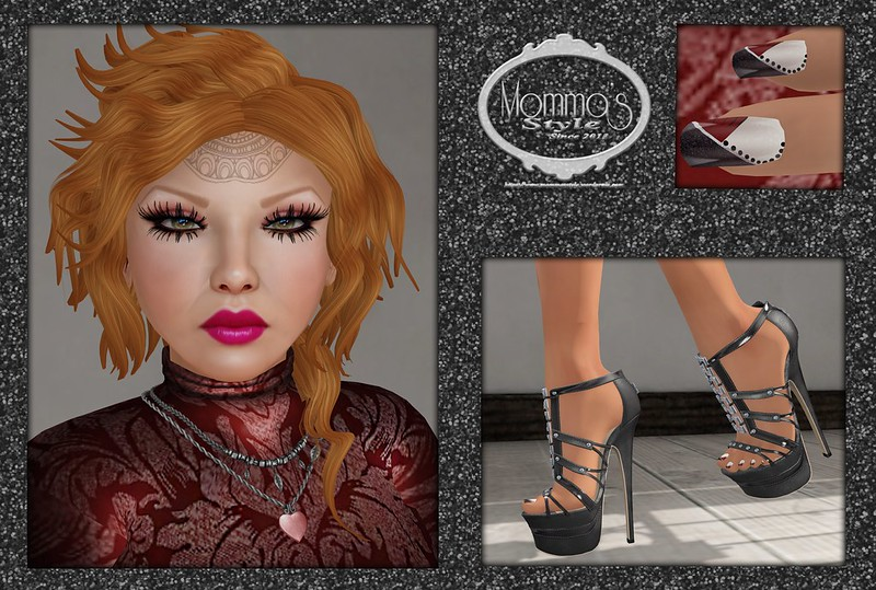 L'A, L'Anguisette, Koketka, Buzz, Buzzeri, Slink, AvEnhancement, Asset, Moondance, DBF, Deluxe Body Factory, Room 69, WLTB, We Love To Blog, Streets of Love, Gacha, Urban United, Arise, RE, RealEvil, Real Evil, CSR, Cosmo Sales Room, Cosmopolitan Sales Room, ZE, ZanzE, Glamistry, LeRawr, Olala, Apple Fall, AF, Kaerri, Homestuff Lounge Theme Room, Serenity Style, Fantasy Room, TFR, Chapter 4, TCF, The Chapter Four, Ch 4, Frogstar, Brixley, StoraxTree, Storax Tree, AD, Authentic Designs, !(A(D), floorplan, Fetch, Second Life, Momma's Style, JenJen Sommerfleck