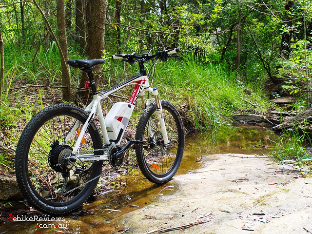 "Velectrix Ascent+ Electric Mountain Bike • <a style=""font-size:0.8em;"" href=""https://www.flickr.com/photos/ebikereviews/15861928613/"" target=""_blank"">View on Flickr</a>"