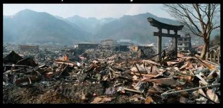 Nagasaki tras el lanzamiento de la bomba atómica