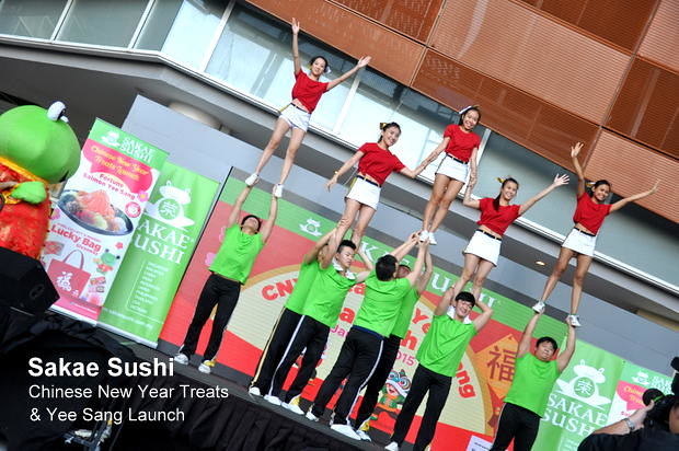 Sakae Sushi Chinese New Year Treats & Yee Sang Launch 5