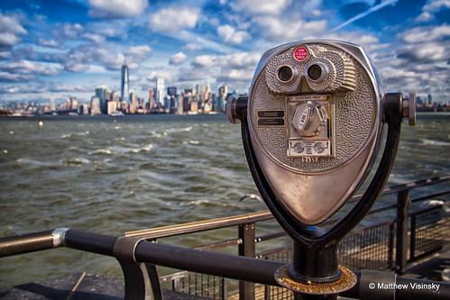 nyc newyorkcity sky ny newyork water canon river manhattan hudson ellisisland libertyisland 6d canon24105mm canon6d matthewvisinsky mattvisinsky