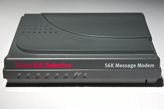 3Com US Robotics 56K Message Modem