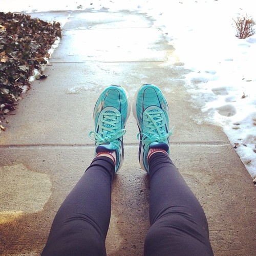10 mile run after the snow melt