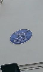 Photo of William Roy blue plaque