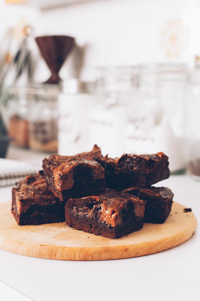 Brownie de Doce de Leite