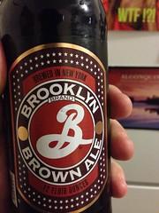 Beersperiment; Brooklyn Brown Ale (Utica, NY). @Halyma: 2* blaaah Me: 2*