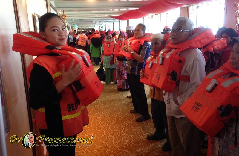 Safety Drill Pelayaran Islamik Star Cruise Libra