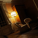 Small photo of Hotel Room at Night