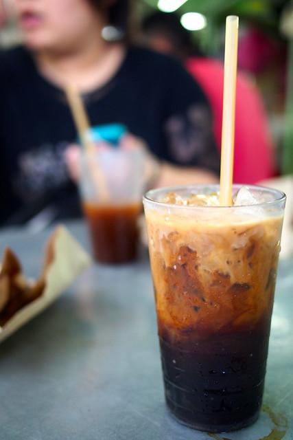 iced milk coffee, Toh Soon Cafe, Georgetown, Penang, Malaysia