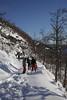 Folletti del bosco sulla neve