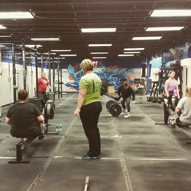 Awesome turnout for Ladies Night at @crossfitfringe last night. I still tear up on my drive home after every session, I know @happyin808 would have loved what its becoming. #crossfit