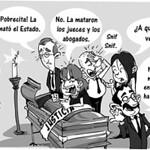 Caricaturas Reforma a la Justicia - 2015
