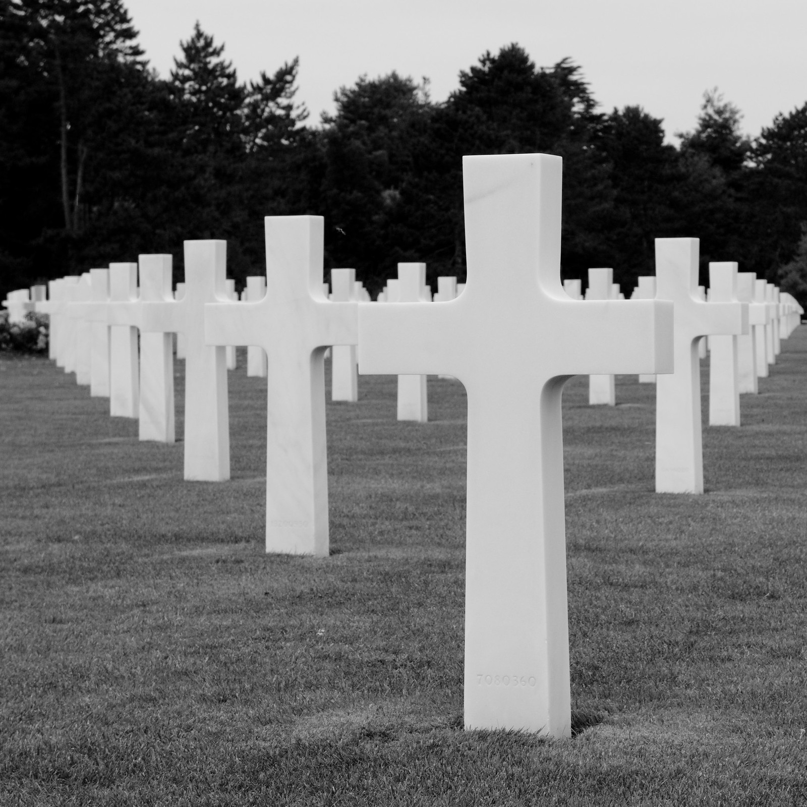 D-Day Cemetery in Normandy. Credit Michal Osmenda