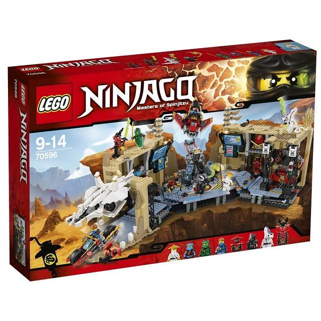 LEGO Ninjago 70596 - Samurai X-Cave Chaos