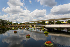 Monorail Track at Epcot