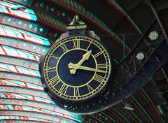 Clock Railway-station York 3D