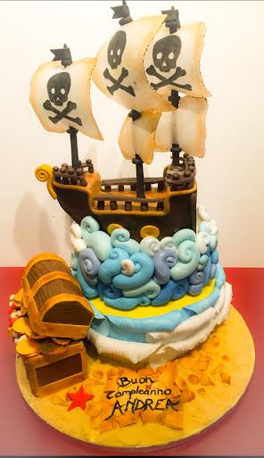 Pirates Cake by Sabrina Placentino
