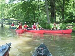 Canoe Training at HM