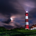 Westerheversand at night by jwfoto1973