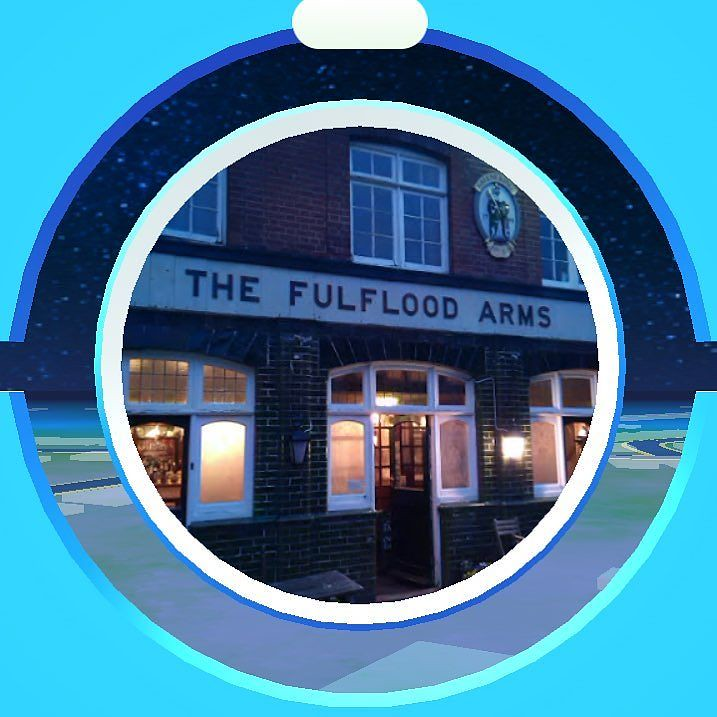 Turns out the local is a #pokéstop #pokemongo #uk #winchester #fulfloodarms