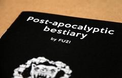 Post-apocalyptic bestiary book