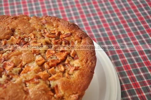 O bolo de maçã
