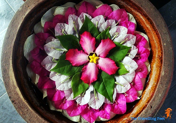 Mandala Flower Arrangement at Terra Manna