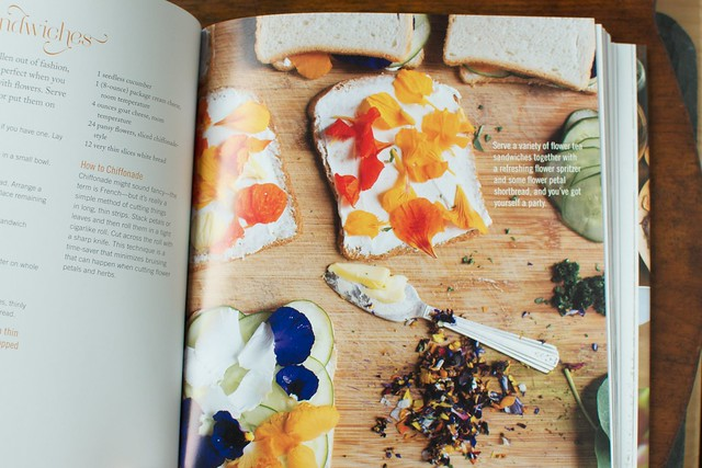 Pansy Tea Sandwiches