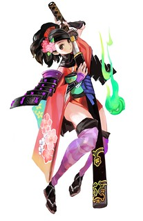 Muramasa Rebirth on PS Vita: Momohime