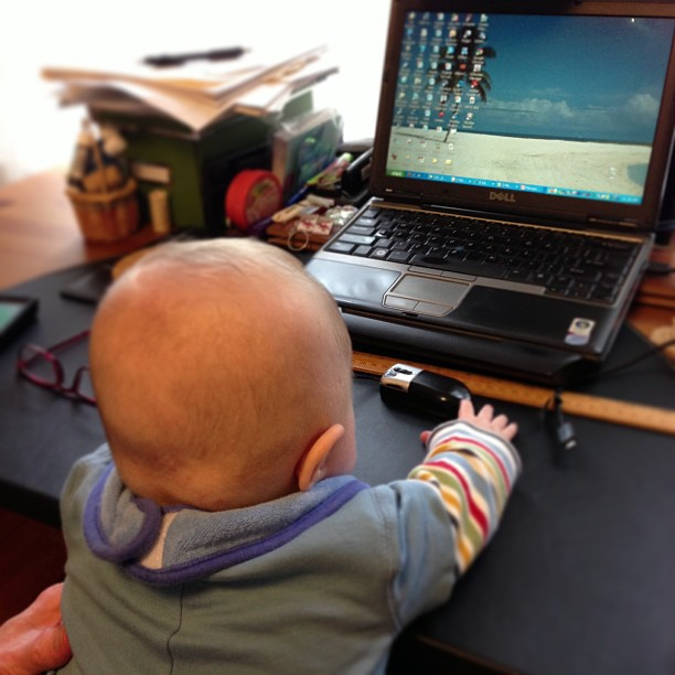 Baby on Windows XP.