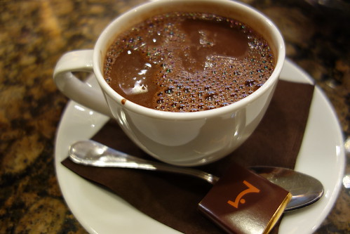 Intense Dark Drinking Chocolate | La Maison du Chocolat | Rockefeller Plaza | Midtown
