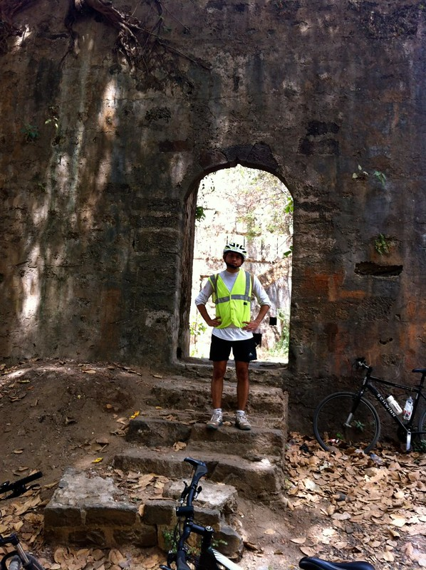 Cycling at Palghar - Mahim Fort